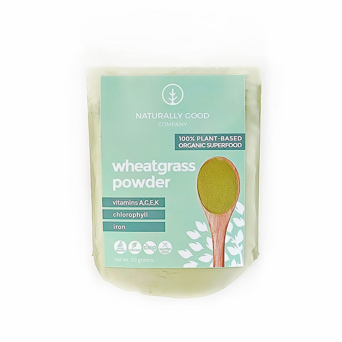 Naturally Good Co Wheatgrass Powder 50g