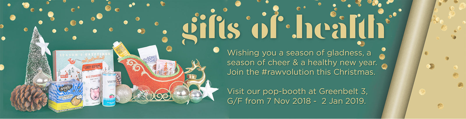Raw Bites 2018 Christmas Gifts of Health