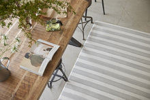 Cloudmat Rug - Grey Watercolor Stripe - CLOUDHAUS
