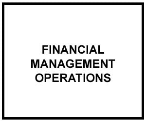 FM 1-06: FINANCIAL MANAGEMENT OPERATIONS