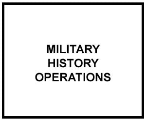 FM 1-20: MILITARY HISTORY OPERATIONS