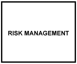 FM 3-100.12: RISK MANAGEMENT