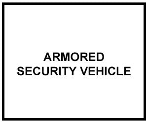FM 3-19.6: ARMORED SECURITY VEHICLE