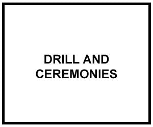 FM 3-21.5: DRILL AND CEREMONIES