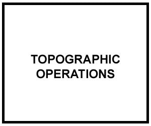 FM 3-34.230: Topographic Operations