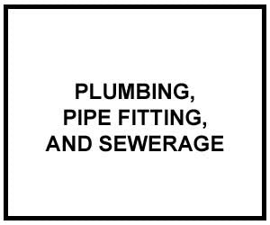 FM 3-34.471: PLUMBING, PIPE FITTING, AND SEWERAGE
