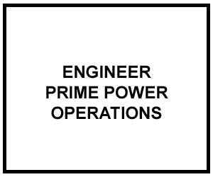 FM 3-34.480: ENGINEER PRIME POWER OPERATIONS