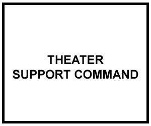 FM 4-93.4: THEATER SUPPORT COMMAND