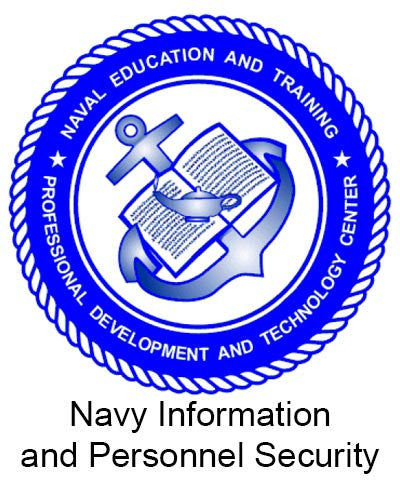 NRTC: Navy Information and Personnel Security
