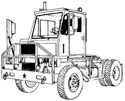 M878 Yard-Type Truck Tractor