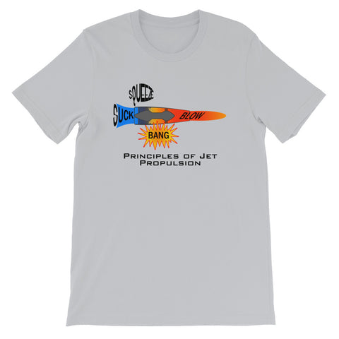 Principles of Jet Propulsion | Short-Sleeve Unisex T-Shirt