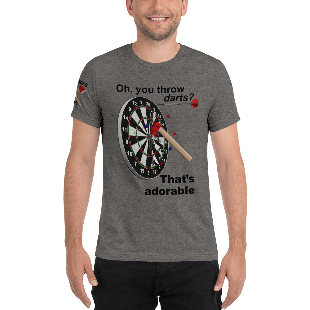 Throws Axes Unisex Tee