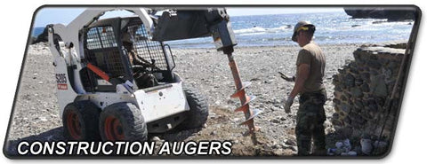Construction and Material Handling Equipment: Augers, Well Drills, and Pile Drivers
