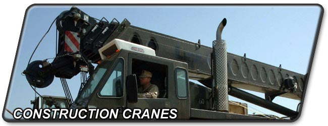 Construction and Material Handling Equipment: Cranes