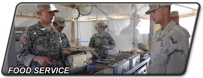 Army Food Service Equipment