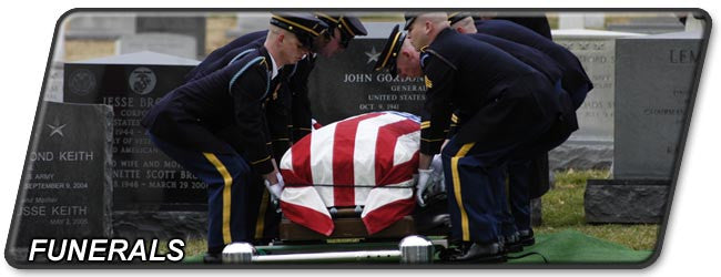 Military Funerals and Deceased Personnel