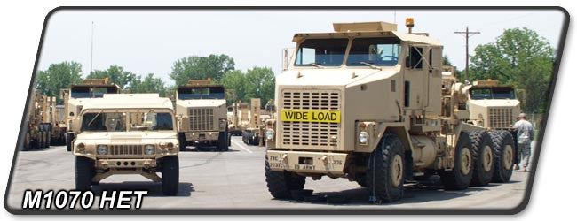M1070 Heavy Equipment Transporter Tractor