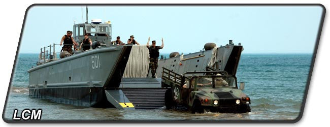 Landing Craft, Mechanized (LCM)