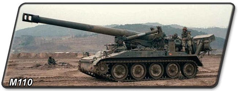 M110 8-Inch Self-Propelled Howitzer