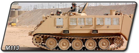 M113 Series Tracked Armored Vehicle