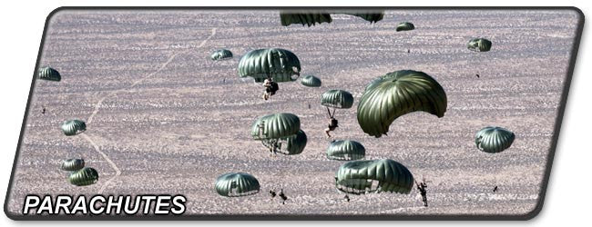 Army Parachutes and Airdrop Equipment