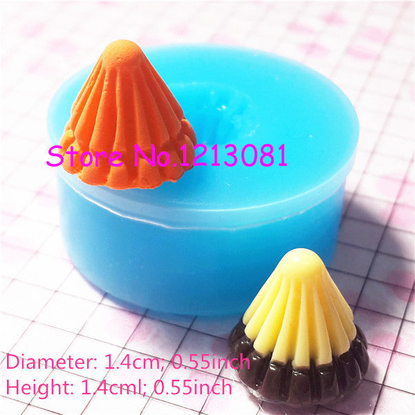 G033 moule fimo moule silicone glan 14mm