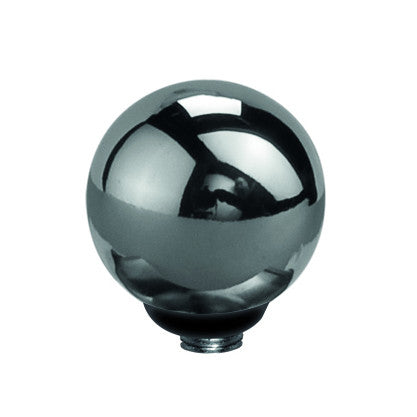 MelanO stainless steel interchangeable 8mm sphere gem - Ellimonelli