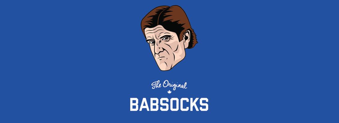 Mike Babcock Socks - Toronto Maple Leaf Socks