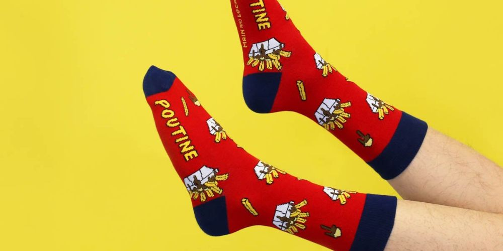 Main and Local poutine socks