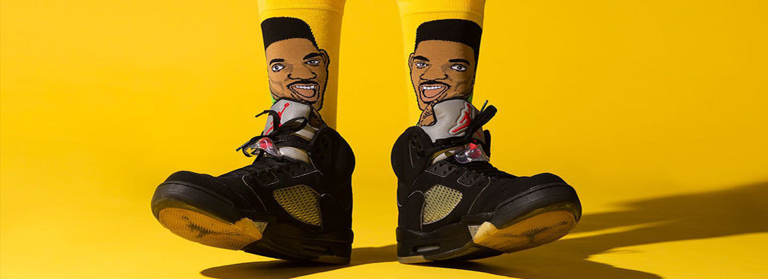 Will Smith Fresh Prince of Bel Air Sock Collection