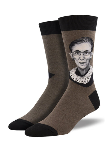 Men's Ruth Bader Ginsburg-Brown
