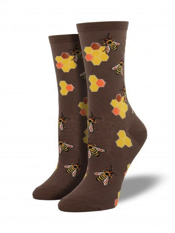 Women's Busy Bees - Brown