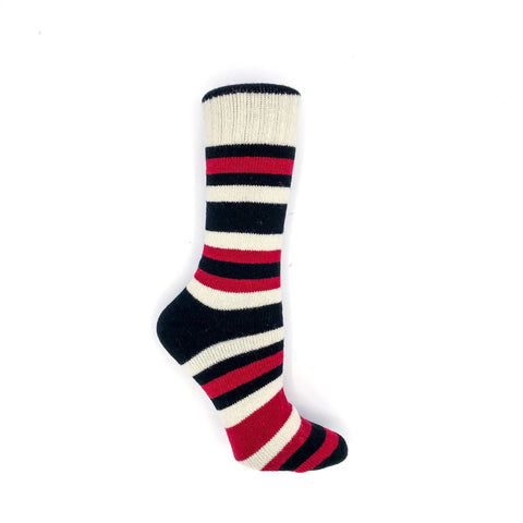 Wool Cabin Stripe - Black