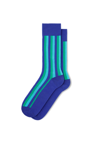 Vertical Stripe-Blue/Green