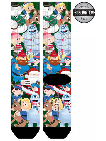 Rudolph The Red-Nosed Reindeer Sublimated