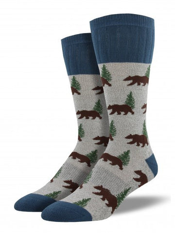 Men's Outlands Bear - Grey