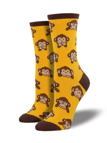 Women's Monkey - No Evil