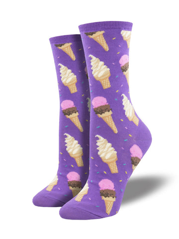 Women's I Scream - Purple