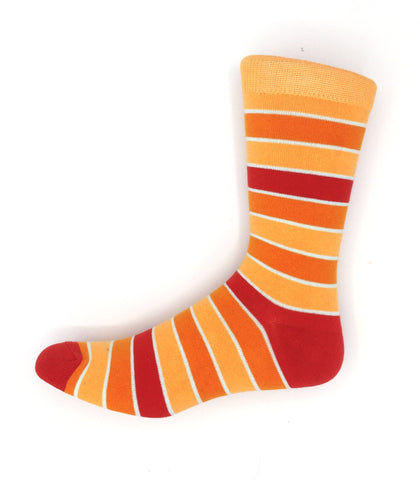 Men's Sunrise Stripes Orange