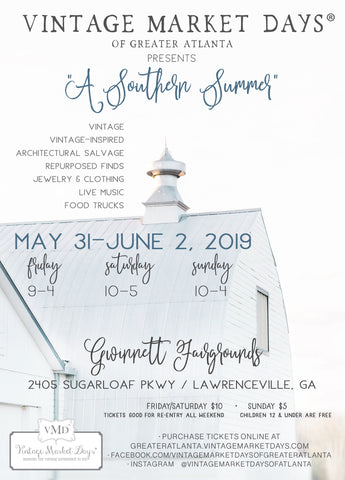 Vintage Market Days Atlanta 2019