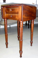 small vintage drop leaf