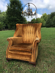 Vintage Velvet Chair The Fox and Feather