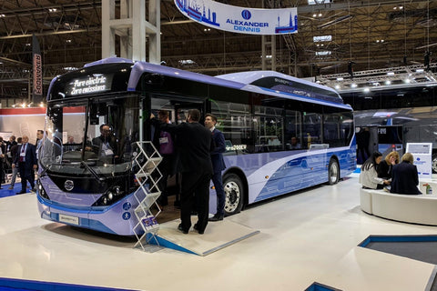 ADL BYD Enviro200EV demonstrator with Aesys display