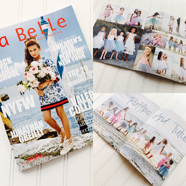 See us in La Belle Kids Fashion Magazine