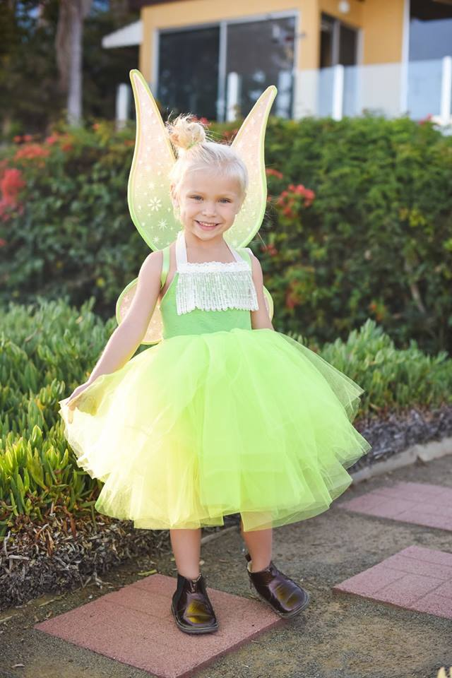 Adorable Tinkerbell Inspired Fairy Baby Toddler Costume