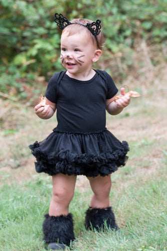 Black Pettiskirt Cat Baby Toddler Costume