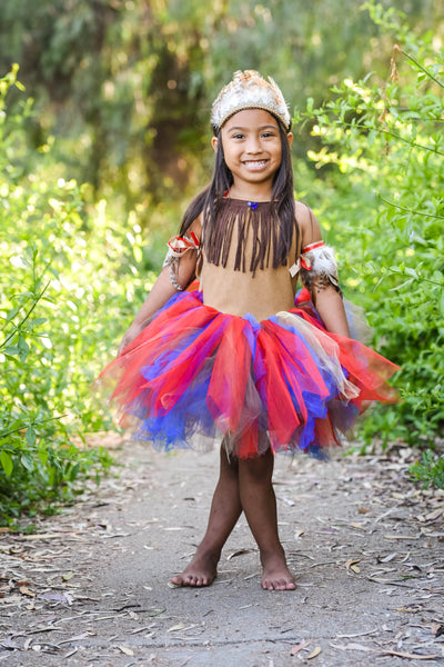 Pocahontas Inspired Baby Toddler Costume Dress
