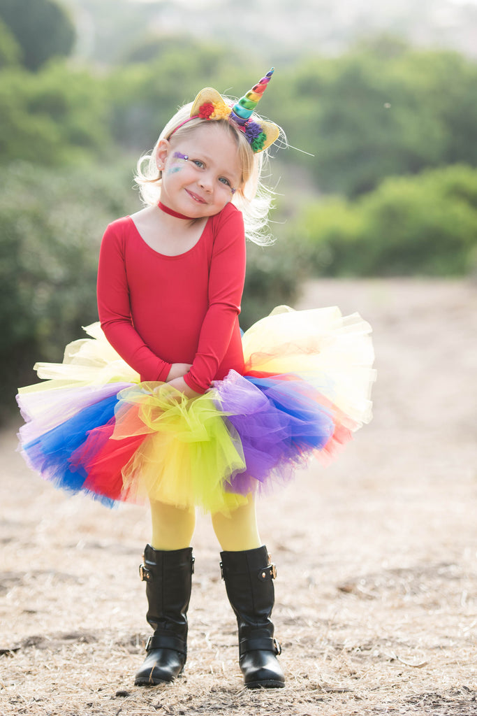 Rainbow Unicorn Tutu Costume for Baby Toddler or Kids