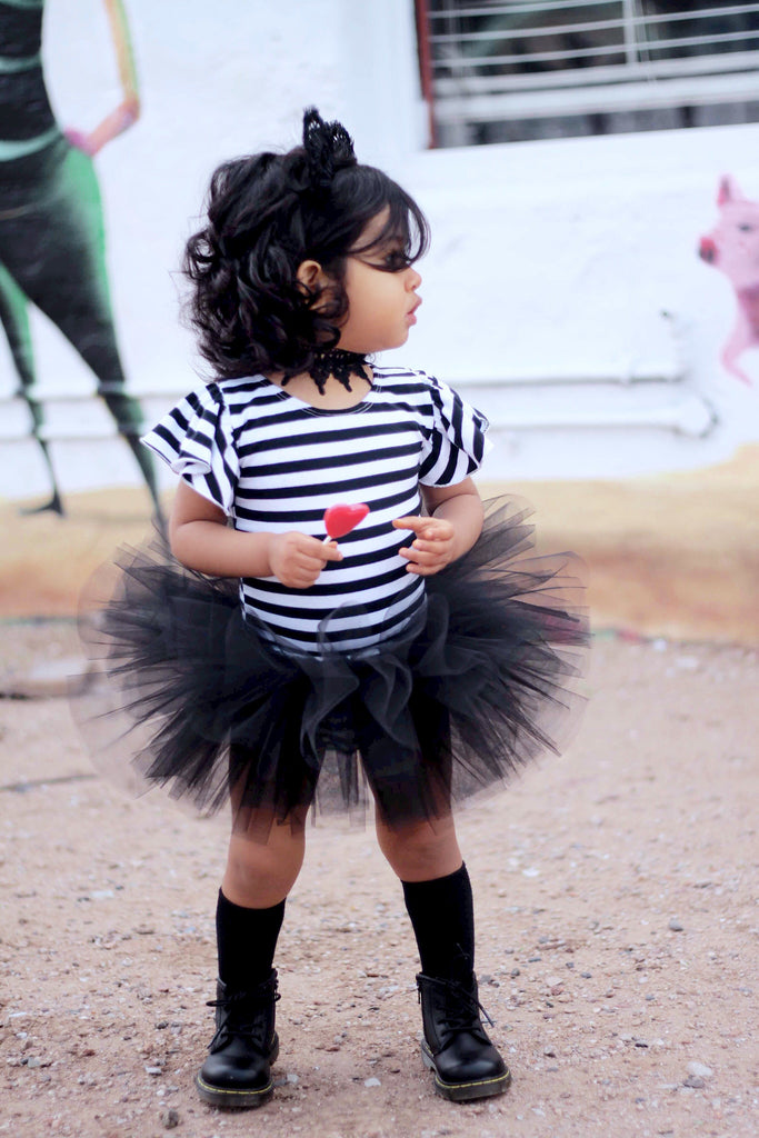 Black Cat Tutu - Simple Baby Toddler Costume