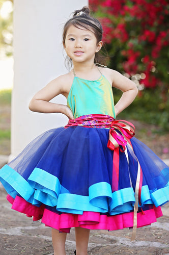 Mulan Inspired Baby Toddler Costume Dress